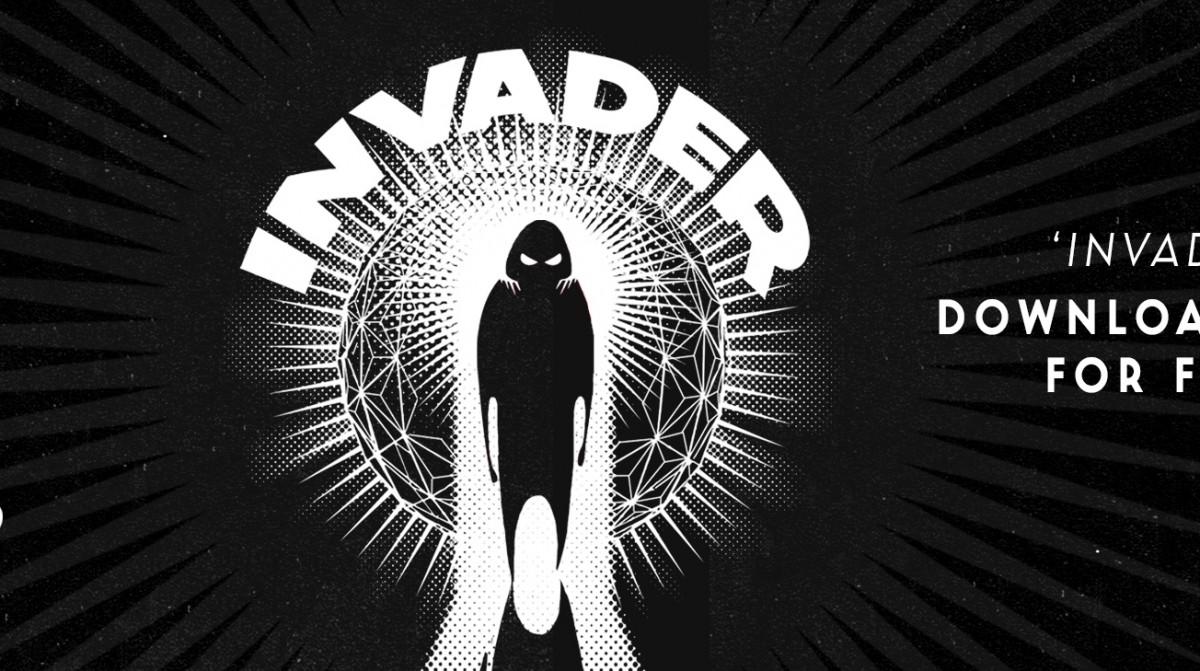 Invader  Banner